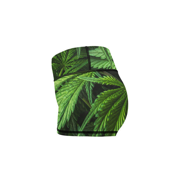 Ganj Yoga Shorts  -  Women's Shorts