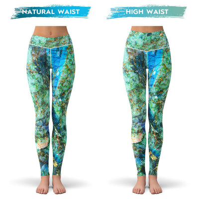 Gem Reef Leggings  -  Yoga Pants