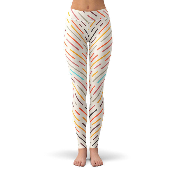 Geo Storm Leggings  -  Yoga Pants