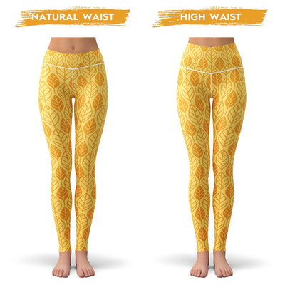 Golden Leaf Leggings