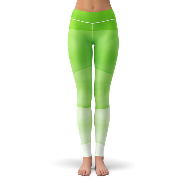 Green Envy Leggings  -
