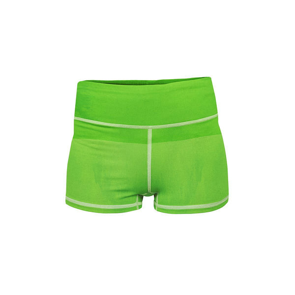 Green Envy Yoga Shorts  -  Women's Shorts