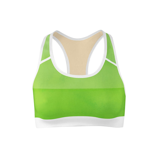 Green Envy Sports Bra  -  Yoga Top