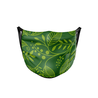 Green Leaf Face Mask  -  Face Mask