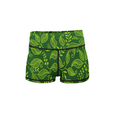 Green Leaf Summer Shorts