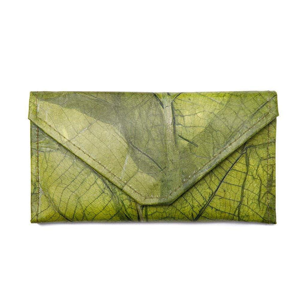Envelope Clutch - Green  -  LL Envelope Clutch Green