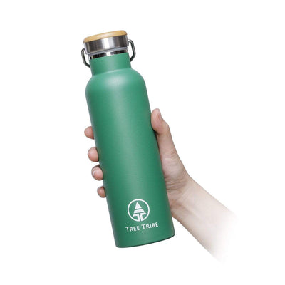 Green Stainless Steel Bottle - 20 oz