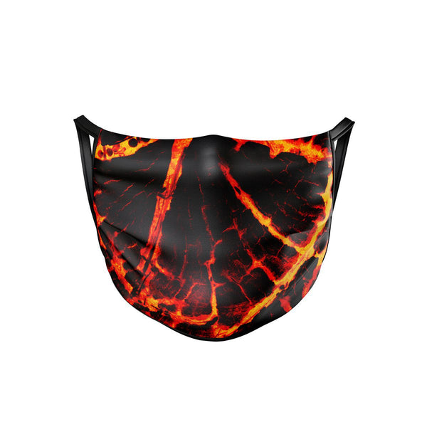 Hot Lava Face Mask  -  Face Mask
