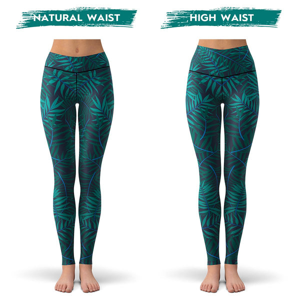 Jungle Palms Leggings