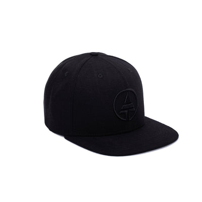 Black Tribe Logo Snapback  -  Hat