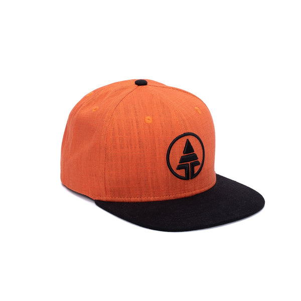 Orange Tribe Logo Snapback  -  Hat