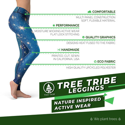 Magic Sky Leggings  -  Yoga Pants