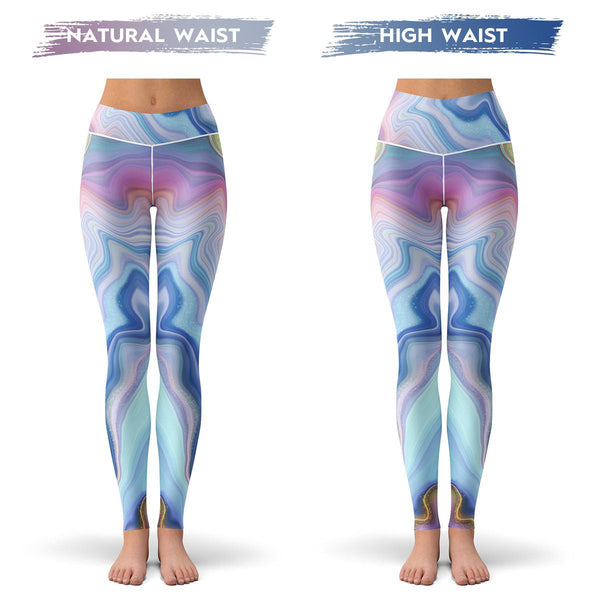 Marble Drift Leggings
