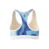 Marble Drift Sports Bra  -  Yoga Top
