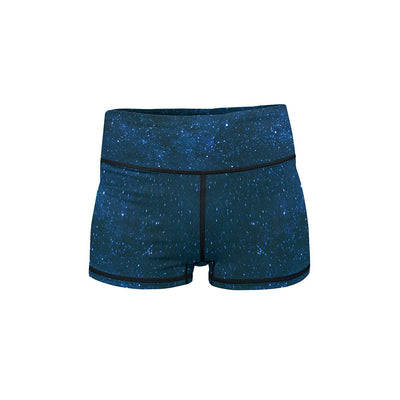 Midnight Blue Stars Summer Shorts