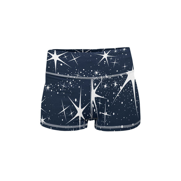 Milky Way Yoga Shorts  -  Women's Shorts