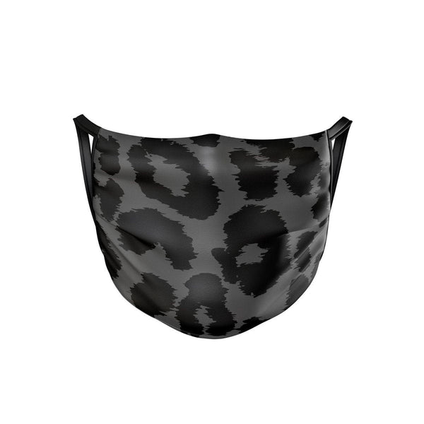 Night Leopard Face Mask  -  Face Mask