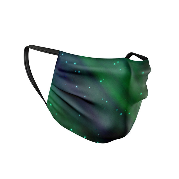 Northern Lights Face Mask  -  Face Mask