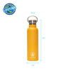 Orange Tribe Logo Water Bottle - 20 oz  -  Reusable Bottle