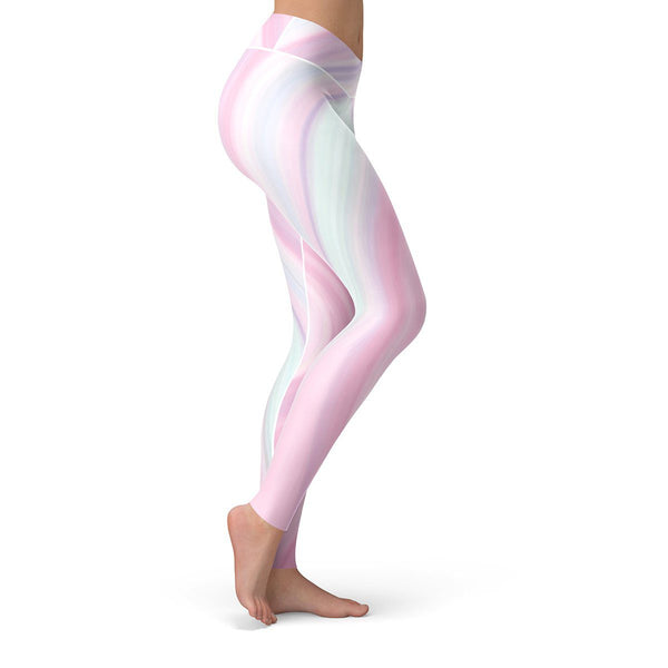 Pastel Leggings  -  Yoga Pants