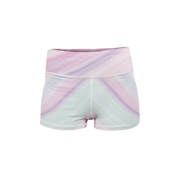Pastel Yoga Shorts  -  Women's Shorts