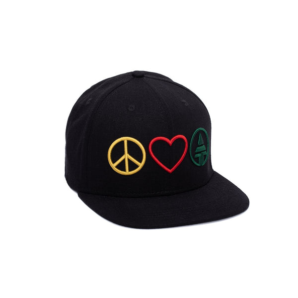 Peace Love Tribe Snapback  -  Hat