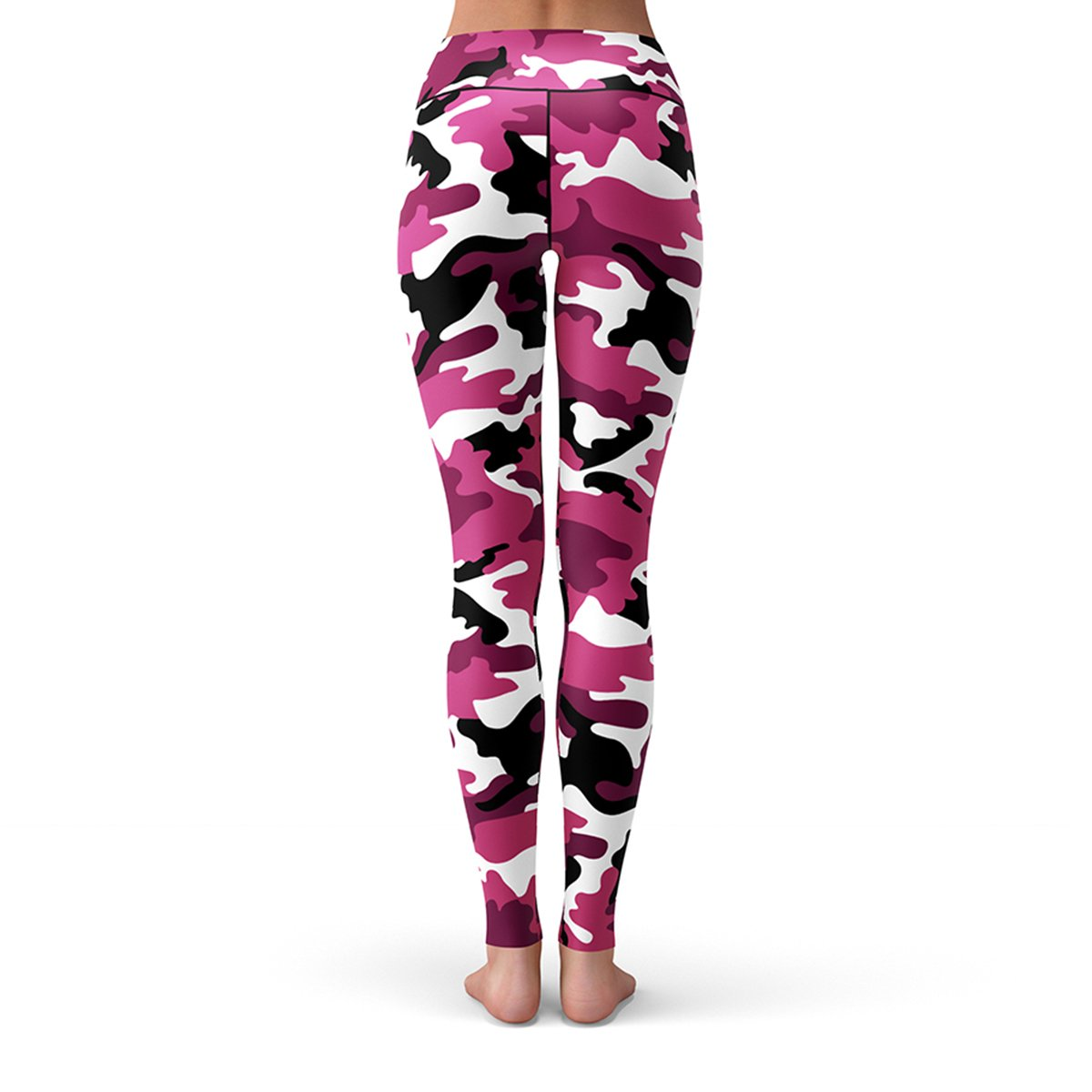 dd924076ca082 Pink Camo Leggings | Activewear for Gym, Running, Yoga, Hiking