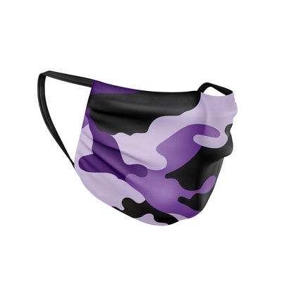 Purple Camo Face Mask  -  Face Mask