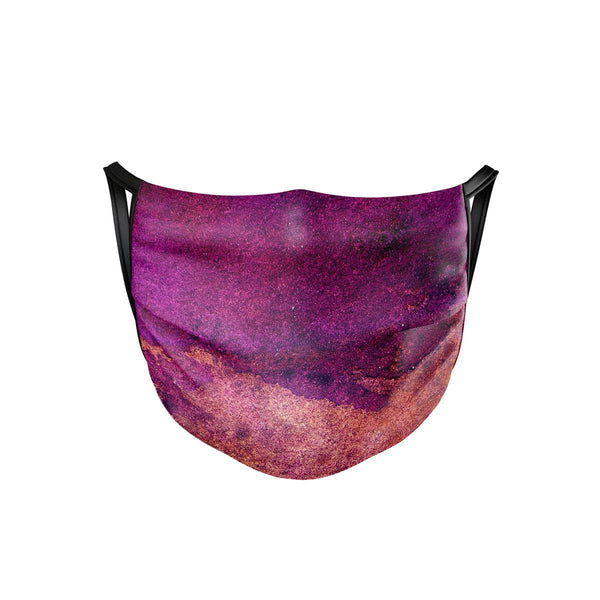 Purple Planet Face Mask  -  Face Mask