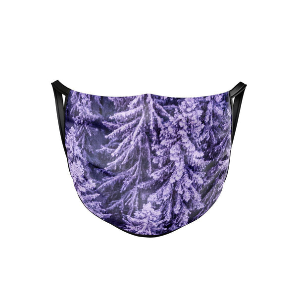 Purple Winter Face Mask  -  Face Mask