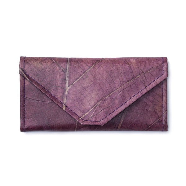 Envelope Clutch - Purple