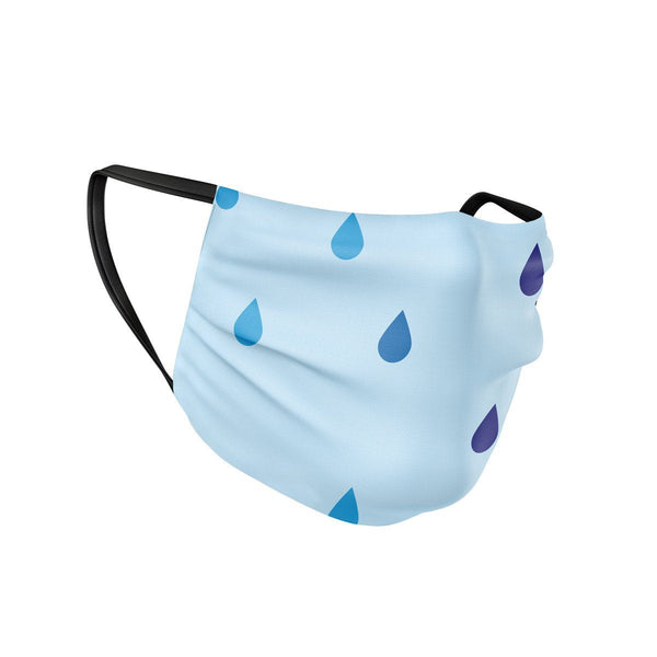Rain Drops Face Mask  -  Face Mask