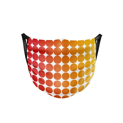 Rainbow Fade Face Mask  -  Face Mask