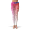 Rainbow Fade Leggings  -  Yoga Pants
