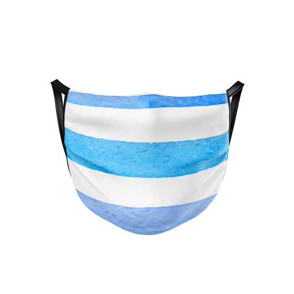Rainbow Stripes Face Mask  -  Face Mask