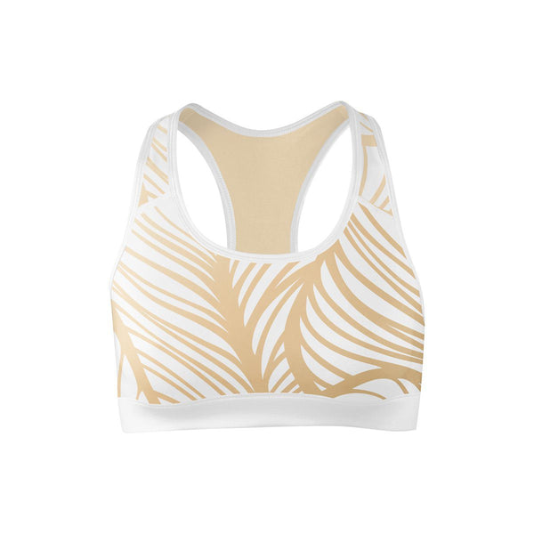 Royal Leaf Sports Bra  -  Yoga Top