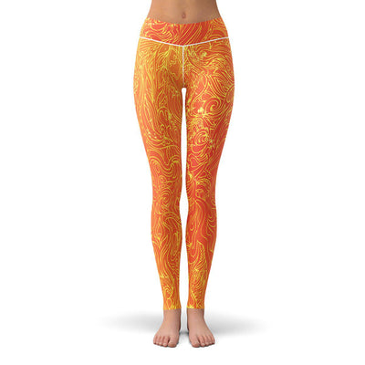 Solar Hypnosis Leggings