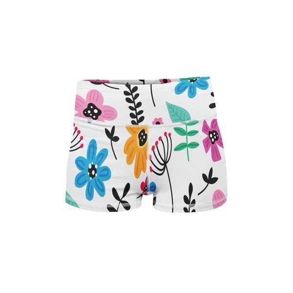 Spring Morning Yoga Shorts  -  Women's Shorts