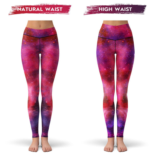 Starburst Galaxy Leggings  -  Yoga Pants