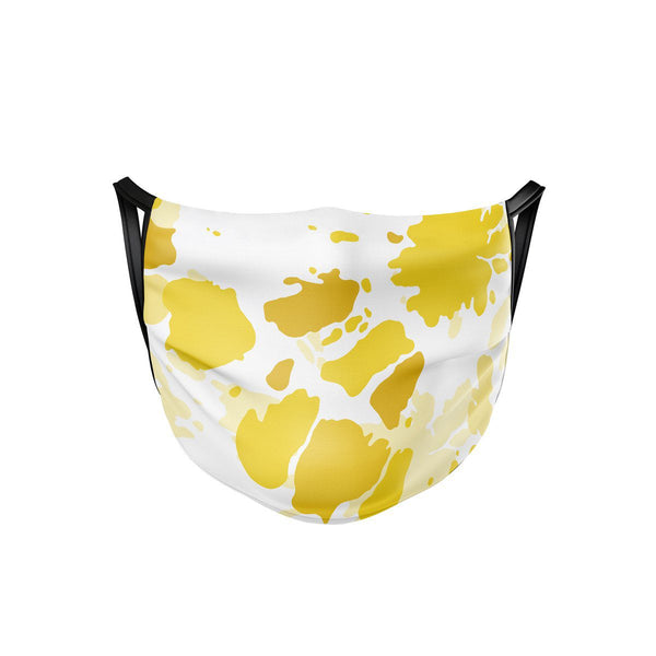 Sunburst Yellow Face Mask  -  Face Mask