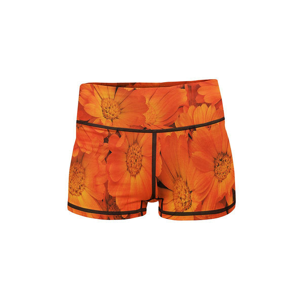 Sunkiss Summer Yoga Shorts  -  Women's Shorts