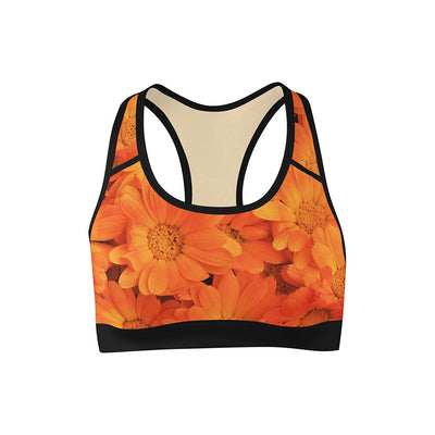 Sunkiss Summer Sports Bra  -  Yoga Top