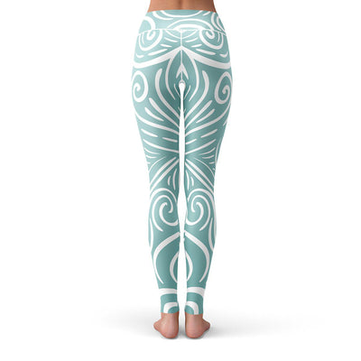Take Me To The Beach Leggings  -  Yoga Pants
