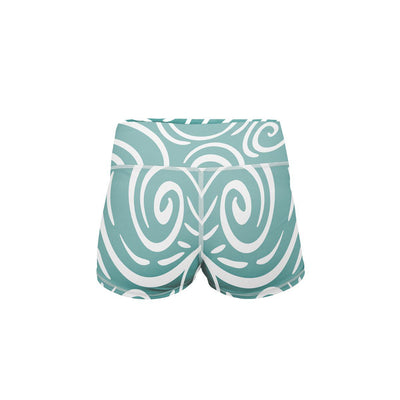 Take Me To The Beach Yoga Shorts  -  Women's Shorts