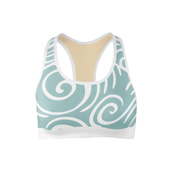 Take Me To The Beach Sports Bra  -  Yoga Top