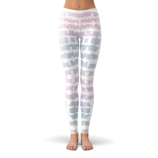 Tie Die Leggings  -  Yoga Pants