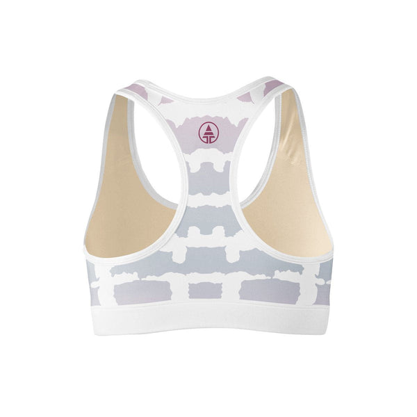 Tie Die Sports Bra  -  Yoga Top