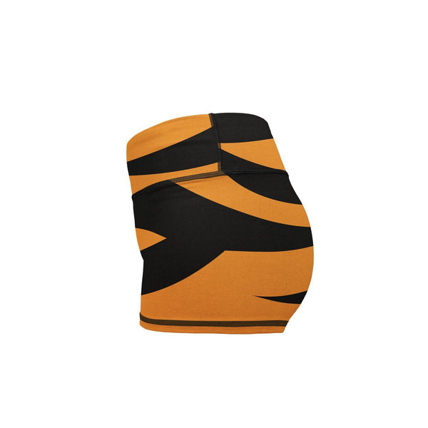 Tiger Yoga Shorts  -  Women's Shorts