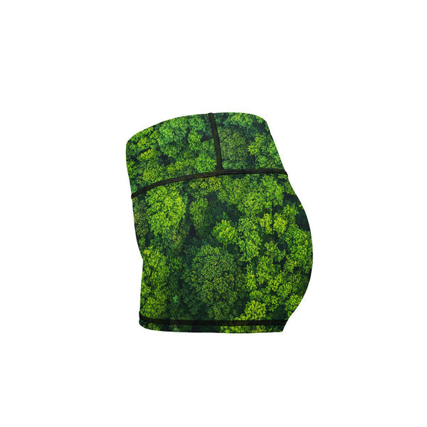 Tree Nugs Yoga Shorts  -  Women's Shorts