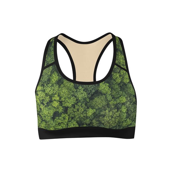Tree Nugs Sports Bra  -  Yoga Top